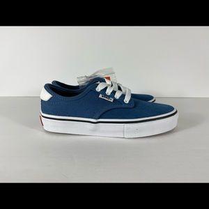 Vans Shoes - Vans Chima Ferguson Pro Blue Ashes White Sneakers